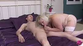 LACEYSTARR - Juicy Granny Takes Thick Cock