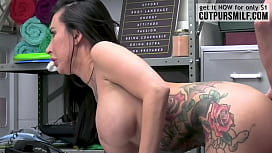Lily Lane was enjoying the pussylicking given by Shoplyfter