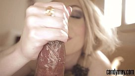 Candy May - Blonde gives...