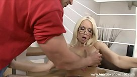 Anal Blonde From France...