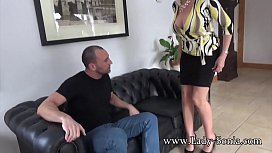 Spanish Fly In Lady Sonia'_s Tea Gets Her Horny As Fuck