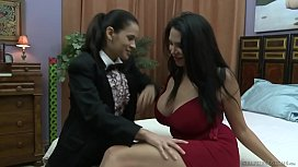 "Missy Martinez and ""Father"" Vanessa Veracruz"