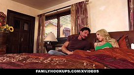 FamilyHookups - Busty Blonde Getting...