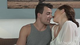MOM Younger boy fucks older housewife in the ass xxx video