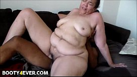 BBW Redbone Gets Fucked Good