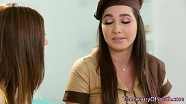 Bigtits lesbo pussylicked by...