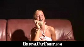 Two sluts brutal catfights...