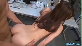 JAV Office Lady Getting Her Hairy Pussy Fucked