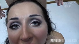 Premium Bukkake - Linda swallows...