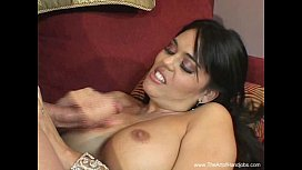 Brunette MILF Gives A...