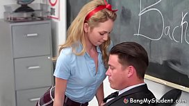 Horny Schoolgirl Slut Angel...