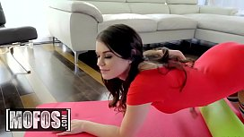 Lets Try Anal - (Anastasia Rose) - Anal Stretching After Yoga - MOFOS