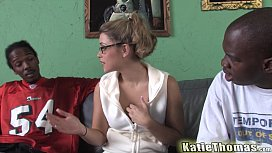 Katie Thomas gets threesome...