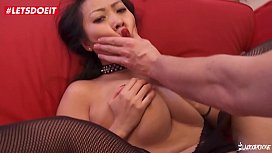 Cute Asian gets Anal Banged by a French Cock