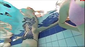 Hot teen underwater scene...