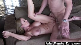Abbey Lane's big bouncing boobs will get you off