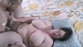 Bbw wife fucked and cum on belly 1