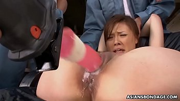 Lovely Asian Reporter Aiko Hirose Had Some Fun While Working