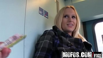 Mofos Public Pick Ups Fuck In The Train Toilet Starring Angel Wicky thumbnail