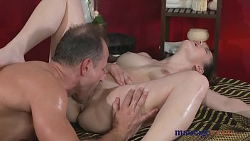 Massage Rooms Big Tits Teen Loves To Suck And Fuck Before Orgasm thumbnail