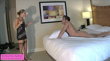 A mothers lament bdsm Ballbusting bj from kinky porn mom