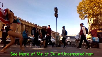 #JulietUncensoredRealityTV Season 2 Episode 73: Sex Bells in Paris & Bloody Bubble Queef @ 08:45