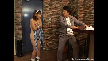 Asian maids fucked hard - Japanese bar maid gets fucked and cumloaded