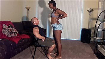 Step daughter lap dance ends in creampie