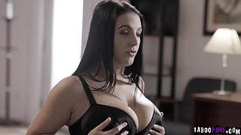 Sexy therapist Angela White cure her patients phobia by starting an intensive 3some double penetration therapy.