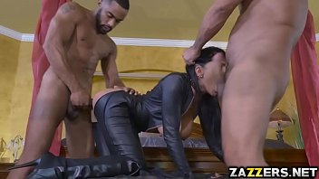 Romi got fucked anal in a hot gangbang
