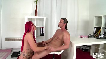 Top-heavy Redhead Paige Delight gets her gigantic Milf tits fucked balls deep
