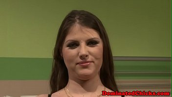 Hairy submissive punished and facialized