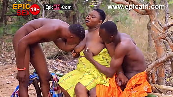 Compilation of best ebony blowjob and threesome