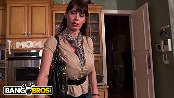 BANGBROS - Stepmom Catches Step Daughter Getting Fucked and Joins In! thumbnail