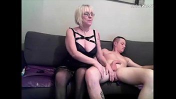 Horny mature with her young fuckbuddy - AdultWebShows.com