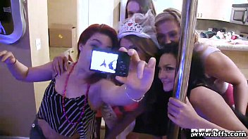 BestFriendsForever hot babes in orgy bachelorette sex party 12 min