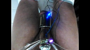 Penis electro stim videos Bound and electro stimmed