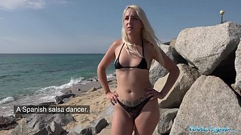 Bikini outdoor babes - Public agent blonde liz rainbow fucked on the beach in a bikini