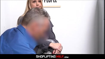 Blonde Big Tits Milf Sarah Vandella Caught Shoplifting Fucked By Officer After Deal Is Reached