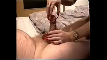 Ilisha long nails hand job Super red longnails handjob