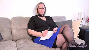AuntJudys - A Special Lesson with Naughty BBW Tutor Ms.Star