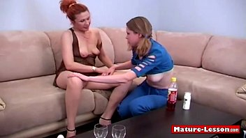 Two lesbians foreplay before fuck
