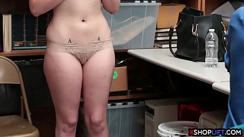 Pierced Nipples  Teen Busted And Fucked By A S d Fucked By A Security Guard