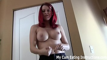 Cum twice for me so I can feed you both loads of cum CEI