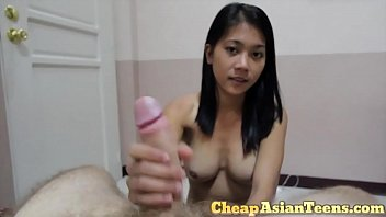 18 yo Silicone Enhanced April Sucks Off White Tourist