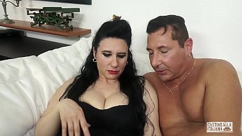 AMATEUR EURO - Busty Mature Sofia Siena Has Her Hairy Pussy Stretched On Casting