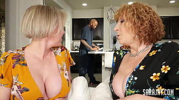 After her divorce, MILF Dee Williams and her Phat Assed Friend Sara Jay call a Mega Hung Cable Dude to fuck their brains out! Watch as they earn that jizz! Full Video & Sara Jay Live @ SaraJay.com!