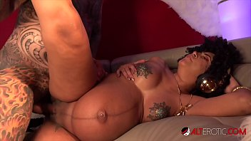 Pregnant erotic babess Pregnant sindy ink has her pussy pounded hard