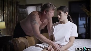 Asian conservative Conservative dad by day fucks his stepdaughter at night