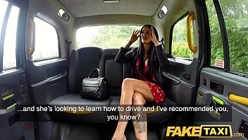Low sex drives - Fake taxi horny deepthroat and busty anal fuck reward for driver